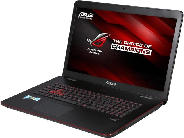 ASUS ROG GL771JM-DH71 Gaming Laptop Intel Core i7 4710HQ (2.50GHz) 12GB Memory 1TB HDD NVIDIA GeForce GTX 860M 2GB 17.3