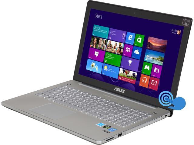 "Asus N550JK-DS71T 15.6"" Full HD (1920x1080)Touchscreen Laptop with Intel Core i7-4700HQ (2.4GHz), 8GB DDR3, 1TB HDD, NVIDIA GeForce GTX 850M 2GB ..."