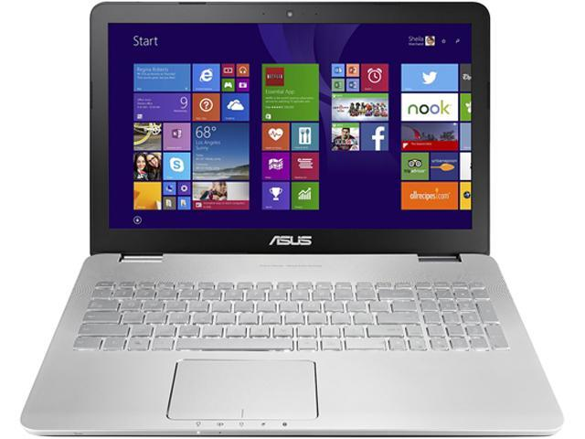 ASUS N551JQ-DS71 Notebook Intel Core i7 4710HQ (2.50GHz) 16GB Memory 1TB HDD NVIDIA GeForce GT 845M 15.6