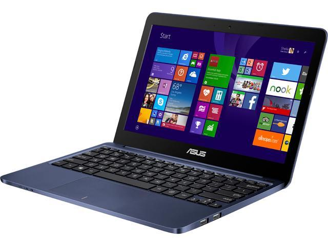 ASUS X205TA-DS01-BL-OFCE Notebook Intel Atom Z3735F (1.33GHz) 2GB Memory 32GB SSD Intel HD Graphics 11.6