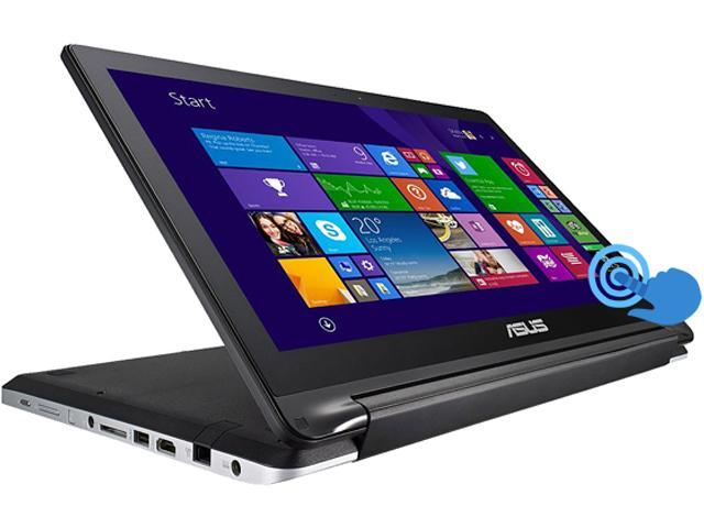 ASUS Laptop Transformer Book Flip R554LA-RH31T Intel Core i3 4030U (1.90 GHz) 4 GB Memory 500 GB HDD Intel HD Graphics 4400 15.6