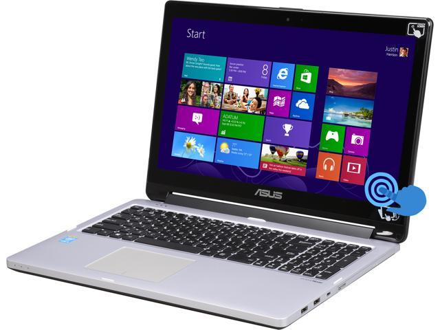 ASUS Laptop Transformer Book Flip R554LA-RH51T Intel Core i5 4210U (1.70GHz) 6GB Memory 500GB HDD Intel HD Graphics 4400 15.6