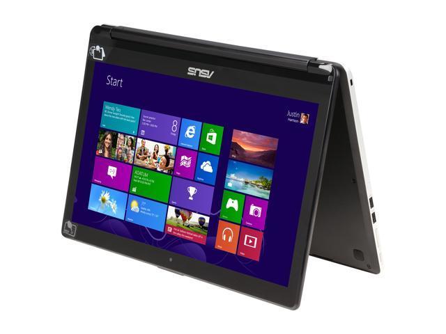 ASUS Transformer Book Flip TP500LA-UB31T 2in1 Laptop Intel Core i3 4030U (1.90 GHz) 500 GB HDD Intel HD Graphics 4400 Shared memory 15.6