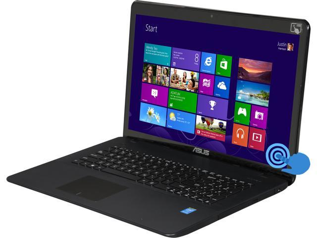 ASUS Laptop R752MA-MH21TQ Intel Pentium N3540 (2.16GHz) 8GB Memory 1TB HDD Intel HD Graphics 17.3