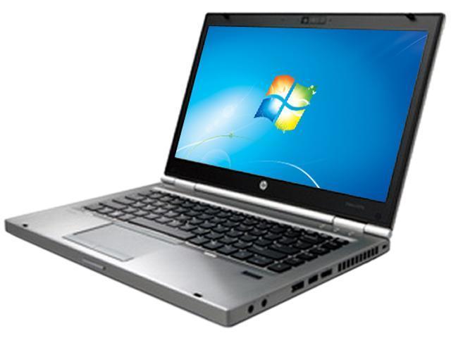 "HP EliteBook 8470p Intel Core i5-3320M 2.6GHz 14.0"" Windows 7 Professional 64-bit Notebook"