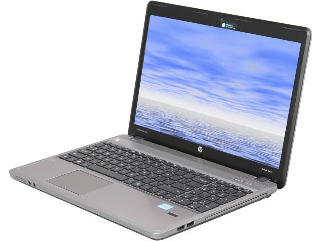 HP Laptop ProBook 4540s (C9K70UT#ABA) Intel Core i3 3110M (2.40GHz) 4GB Memory 500GB HDD Intel HD Graphics 4000 15.6