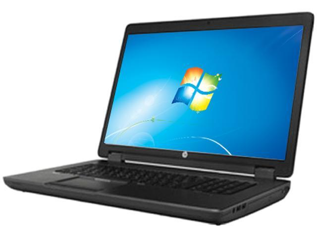 HP ZBook 17 F1J74UT#ABA Mobile Workstation Intel Core i7 4700MQ (2.40GHz) 16GB Memory 750GB HDD 32GB Flash Cache SSD NVIDIA Quadro K3100M 17.3
