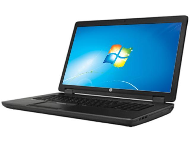 HP ZBook 17 F2P73UT#ABA Mobile Workstation Intel Core i7 4700MQ (2.40GHz) 8GB Memory 500GB HDD 128GB SSD NVIDIA Quadro K610M 17.3