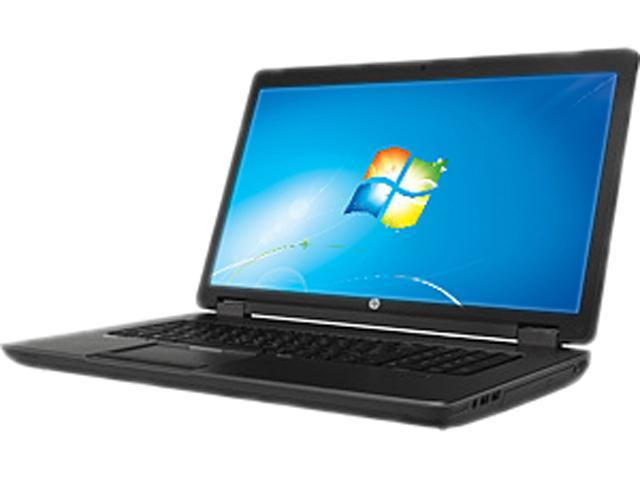 HP ZBook 17 F2P72UT#ABA Mobile Workstation Intel Core i7 4700MQ (2.40GHz) 8GB Memory 750GB HDD NVIDIA Quadro K610M 17.3