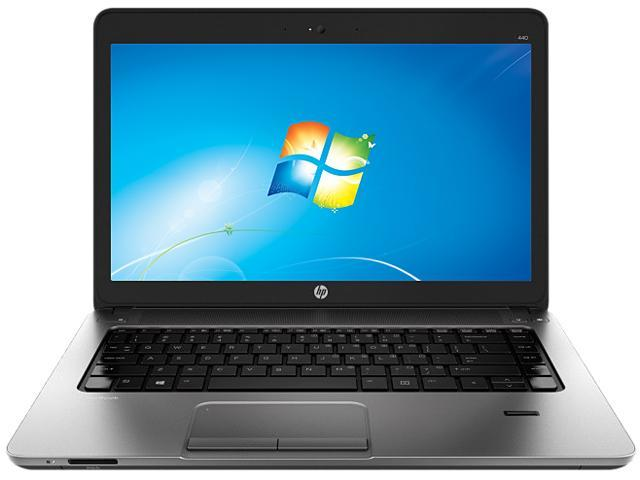 HP ProBook 440 G1 (F2P44UT#ABA) Notebook Intel Core i3 4000M (2.4GHz) 4GB Memory 500GB HDD Intel HD Graphics 4600 14.0
