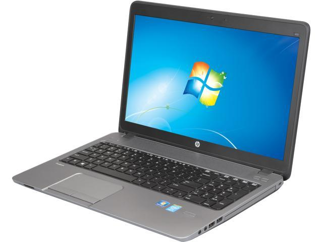 HP ProBook 450 G1 (F2P36UT#ABA) Notebook Intel Core i3 4000M (2.4GHz) 4GB Memory 500GB HDD Intel HD Graphics 4600 15.6