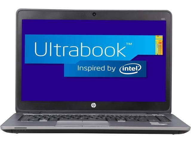 HP EliteBook 840 G1 Ultrabook - Intel Core i5 4GB Memory 180GB SSD 14