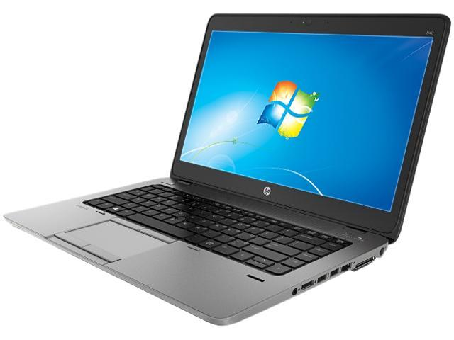 HP EliteBook 840 G1 (F2P22UT#ABA) Notebooks Intel Core i5 4300U (1.90GHz) 4GB Memory 500GB HDD Intel HD Graphics 4400 14.0