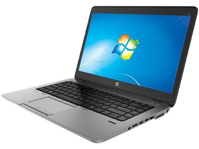HP EliteBook 840 G1 (F2P24UT#ABA) Notebooks Intel Core i3 4010U (1.7GHz) 4GB Memory 500GB HDD Intel HD Graphics 4400 14.0