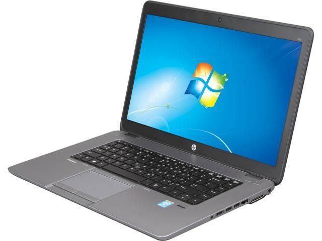 HP EliteBook 850 G1 (E3W16UT#ABA) Notebooks Intel Core i7 4600U (2.10GHz) 8GB Memory 500GB HDD Intel HD Graphics 4400 15.6