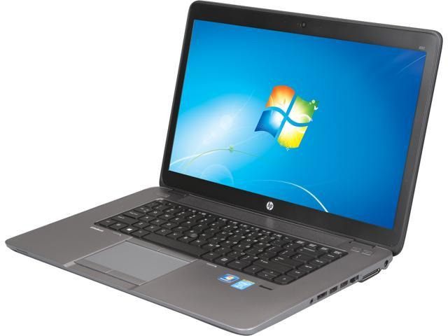 HP EliteBook 850 G1 (E3W17UT#ABA) Notebooks Intel Core i5 4200U (1.60GHz) 4GB Memory 500GB HDD Intel HD Graphics 4400 15.6