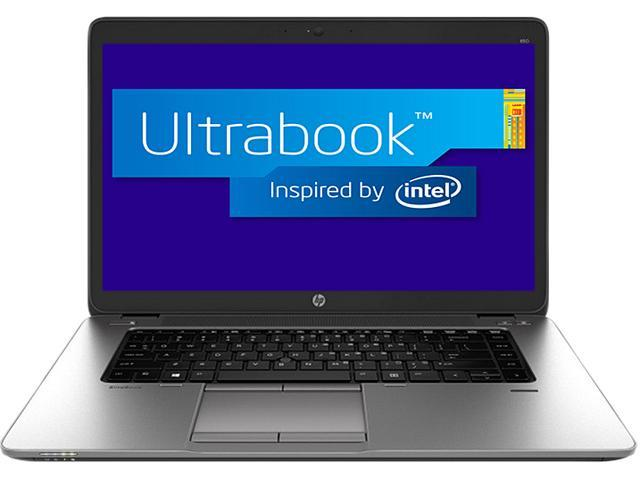 HP EliteBook 850 G1 (E3W19UT#ABA) Intel Core i7 4600U (2.10GHz) 8GB Memory 180GB SSD 15.6