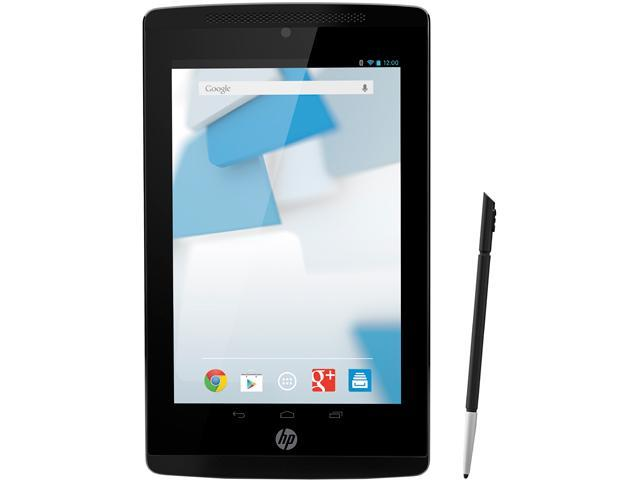 HP Slate 7 Extreme Android Tablet - NVIDIA Tegra 4 1GB Memory 16GB 7.0