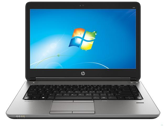 HP ProBook 645 G1 (F2R43UT#ABA) Notebook AMD A-Series A4-5150M (2.70GHz) 4GB Memory 500GB HDD AMD Radeon HD 8350G 14.0