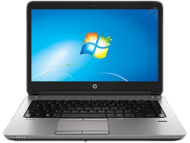 HP ProBook 645 G1 (F2R09UT#ABA) Notebook AMD A-Series A8-5550M (2.10GHz) 8GB Memory 500GB HDD AMD Radeon HD 8550G 14.0