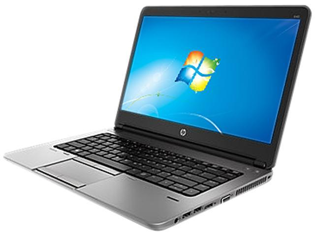 HP ProBook 640 G1 (F2R08UT#ABA) Notebook Intel Core i5 4300M (2.60GHz) 4GB Memory 180GB SSD Intel HD Graphics 4600 14.0