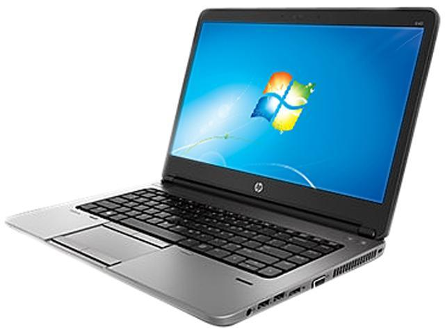 HP ProBook 640 G1 (F2R07UT#ABA) Notebook Intel Core i3 4000M (2.4GHz) 4GB Memory 500GB HDD Intel HD Graphics 4600 14.0