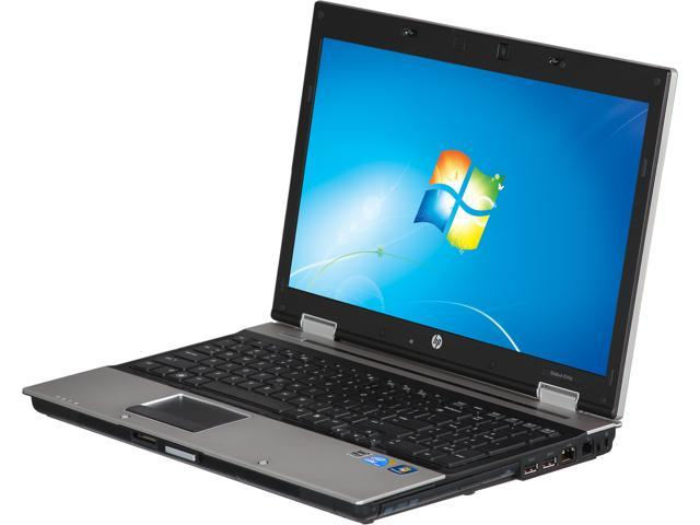 HP 8540P Notebook Intel Core i7 2.66GHz 4GB Memory 250GB HDD Integrated Graphics 15.6