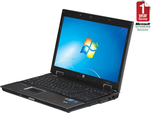 HP Laptop 8540P Intel Core i7 2.67GHz 4GB Memory 320GB HDD Integrated Graphics 15.5