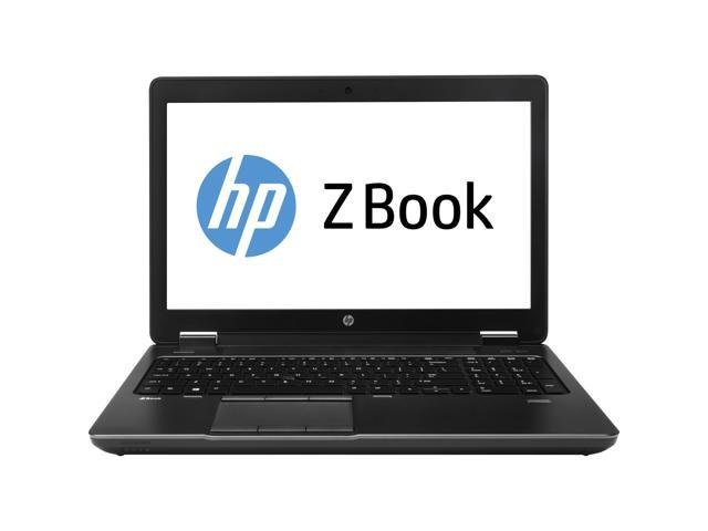 HP ZBook Notebook Intel Core i7 4800MQ (2.70GHz) 8GB Memory 256GB SSD NVIDIA Quadro K1100M 15.6