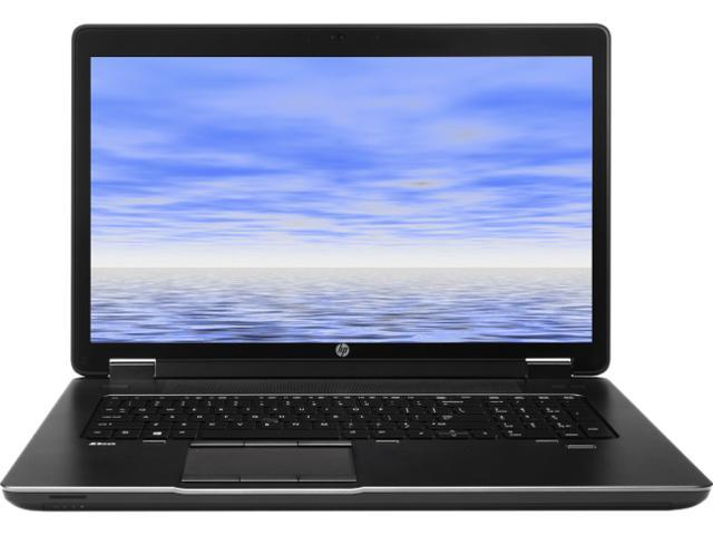 HP ZBook 17 F7W21UT#ABA Mobile Workstation Intel Core i7 4900MQ (2.80GHz) 32GB Memory 750GB HDD NVIDIA Quadro K5100M 17.3