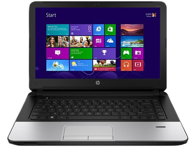 HP 340 G1 (G1Q51UT#ABA ) Notebook Intel Celeron 1.60GHz 2GB Memory 320GB HDD Graphics Media Accelerator HD 14.0