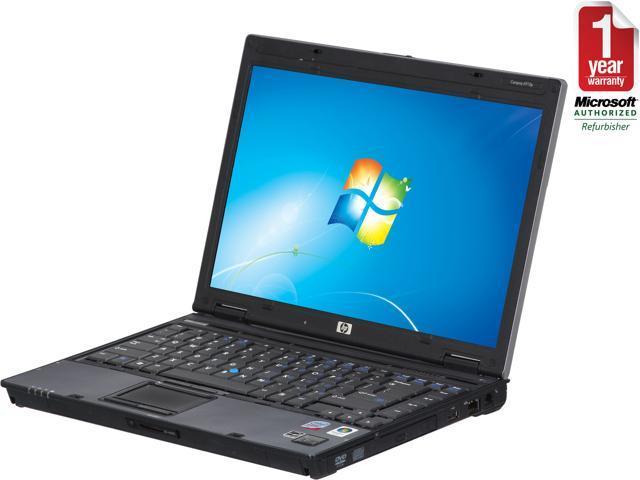 "HP EliteBook 6910P 14"" Business Notebook Intel Core 2 Duo 2.00Ghz CPU, 2GB RAM, 80GB HDD, DVD/CD-RW Combo Windows 7 Professional 32 Bit"