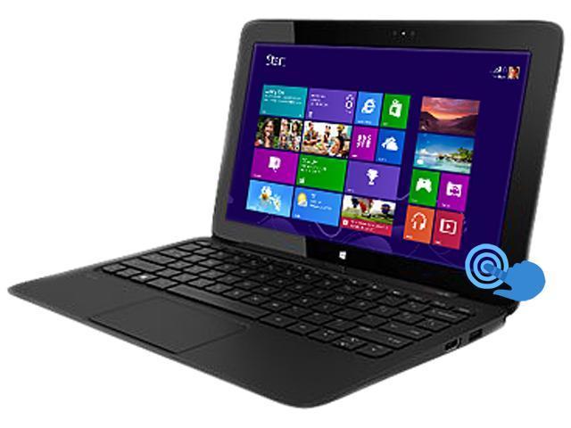 HP Pro x2 410 G1 G1Q89UT#ABA Notebook Intel Core i5 4202Y (1.60GHz) 4GB Memory 256GB SSD Intel HD Graphics 4200 11.6