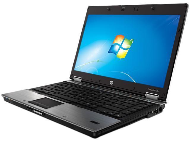 HP EliteBook 8440p (SJ747UP#ABA) Notebook Intel Core i7 620M (2.66GHz) 4GB Memory 250GB HDD NVIDIA NVS 3100M 14.1