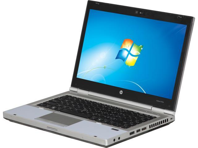 HP 8460p Notebook (B grade: Scrach and Dent) Intel Core i5 2.50 GHz 4GB Memory 320GB HDD Intel HD Graphics 14.1