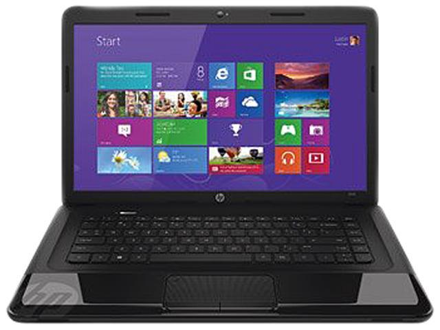 HP 2000-2C34NR Notebook AMD E1-Series E1-1500 (1.48GHz) 4GB Memory 320GB HDD 15.6