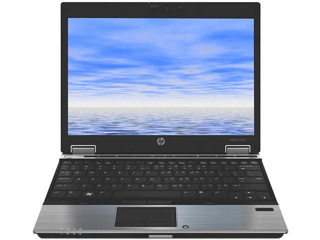 HP 2540P Notebook Intel Core i7 2.13GHz 4GB Memory 250GB HDD 12.0