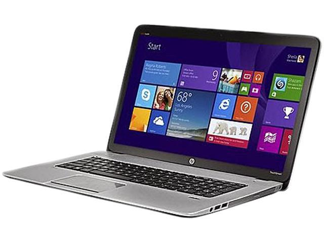 HP ENVY TouchSmart M7-J120DX Notebook Intel Core i7 2.40GHz 8GB Memory 1TB HDD Intel HD Graphics 4600 17.3