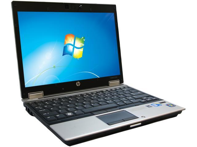 HP 2540P Notebook Intel Core i7 2.13GHz 4GB Memory 250GB HDD 12.1