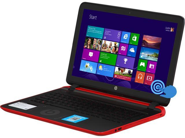 HP Beats Special Edition 15-p030nr Notebook AMD A-Series A8-5545M (1.70GHz) 8GB Memory 1TB HDD AMD Radeon HD 8510G 15.6