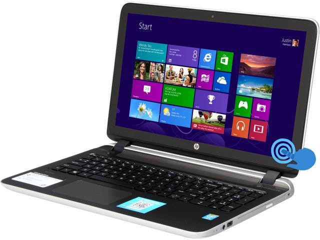 HP Pavilion 15-p020us Notebook Intel Core i5 4210U (1.70GHz) 6GB Memory 750GB HDD Intel HD Graphics 4400 15.6