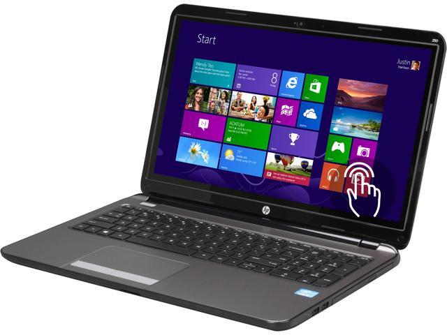 HP Laptop 250 G3 G4U95UT#ABA Intel Core i3 3217U (1.80GHz) 4GB Memory 500GB HDD Intel HD Graphics 4000 15.6