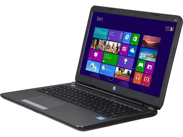 HP Laptop 250 G3 G4U97UT#ABA Intel Core i3 3217U (1.80GHz) 4GB Memory 320GB HDD Intel HD Graphics 4000 15.6