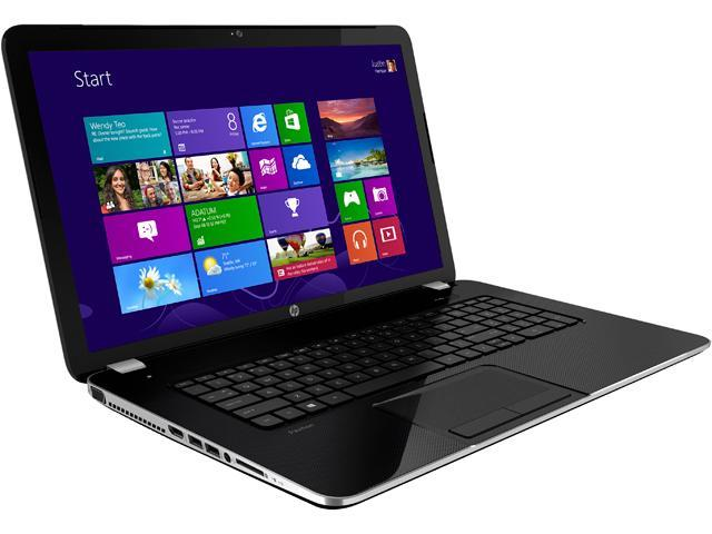 HP Pavilion 17-e123cl Notebook AMD A-Series A8-5550M (2.10GHz) 8GB Memory 1TB HDD AMD Radeon HD 8550G 17.3