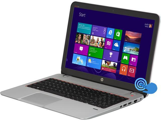 "HP Laptop ENVY 15 15-j173cl AMD A10-Series A10-5750M (2.50 GHz) 12 GB Memory 1 TB HDD AMD Radeon HD 8650G 15.6"" Touchscreen ..."