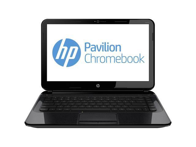 HP 14 (J2L43UA#ABA) Chromebook Intel Celeron 2955U (1.40GHz) 4GB Memory 16GB SSD 14.0