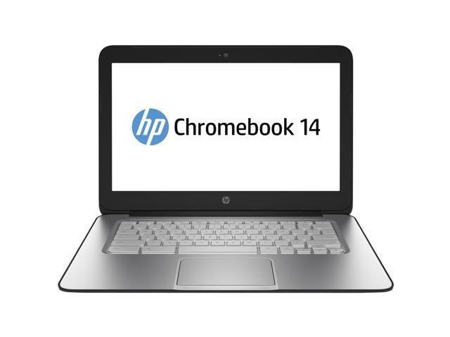 HP 14 (J2L40UA#ABA) Chromebook Intel Celeron 2955U (1.40GHz) 2GB Memory 16GB SSD 14.0