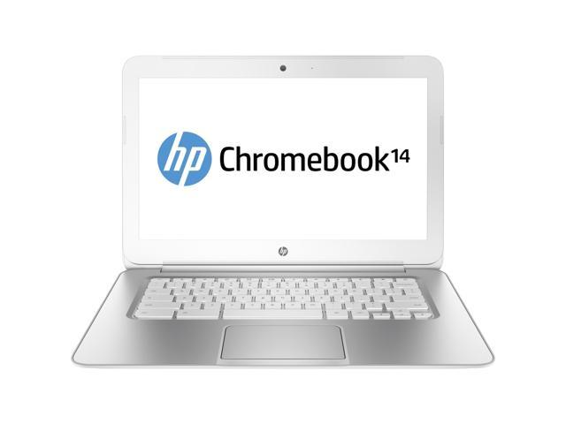 HP 14 (J2L41UA#ABA) Chromebook Intel Celeron 2955U (1.40GHz) 4GB Memory 16GB SSD 14.0