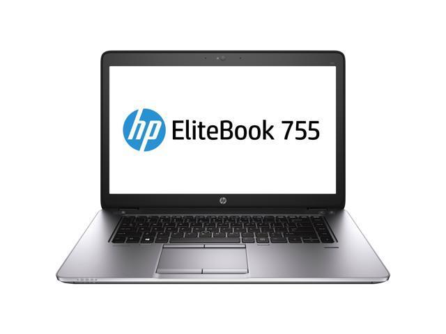 HP EliteBook 755 G2 (J5N85UT#ABA) Notebook AMD A-Series AMD A10 Pro-7350B 2.10 GHz 4GB Memory 500GB HDD AMD Radeon R6 Series 15.6