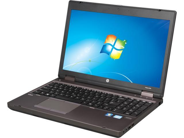 HP ProBook 6570b (C4R43US#ABA) Notebook Intel Core i5 3320M (2.60GHz) 4GB Memory 320GB HDD Intel HD Graphics 4000 15.6